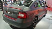 Skoda Rapid Matte Concept Rear Three Quarters Righ