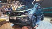 Tata Hexa Safari Concept Front Three Quarters Auto
