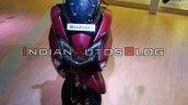 Bs Vi Suzuki Burgman Street Red Auto Expo 2020 Fro