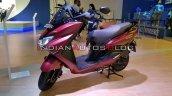 Bs Vi Suzuki Burgman Street Red Auto Expo 2020 Lef