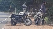 Royal Enfield Thunderbird 350x Spy Shot Front Thre