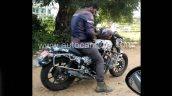 Royal Enfield Thunderbird 350x Spy Shot Side Profi