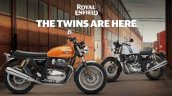 Royal Enfield Continental Gt 650 And Royal Enfield