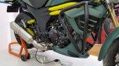 Arai Mild Hybrid Mahindra Mojo Engine Left