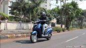 Honda Activa 6g Review Images Action Shot 1