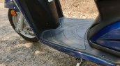 Honda Activa 6g Review Images Footboard