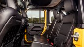 Jeep Wrangler Rubicon 5 Door Rear Seats