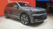 Vw Tiguan Allspace Front Three Quarters Auto Expo