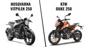 Ktm 250 Duke Vs Husqvarna Vitpilen 250 Cover