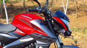 Bs Vi Bajaj Pulsar Ns200 Front Three Quarter Left