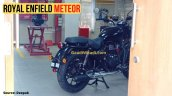 Royal Enfield Meteor Rear Three Quarters Left Side