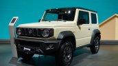 Suzuki Jimny Sierra At Paris Motor Show 2018 White