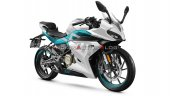 Cfmoto 250sr White Front Three Quarters Right Side