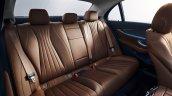 2021 Mercedes E Class Facelift Rear Seats