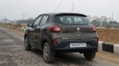 2019 Renault Kwid Review Images Front Rear Quarter