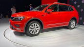Vw Tiguan Allspace Front Three Quarters Left Side