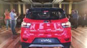 Mahindra Kuv100 Nxt Red Black Rear