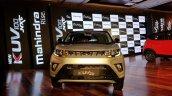 Mahindra Kuv100 Nxt Silver Black Front