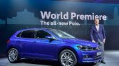 Mk6 Vw Polo Blue World Premiere
