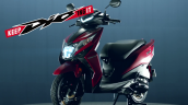 Bs Vi 2020 Honda Dio Front Three Quarter Left