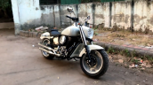 Modified Royal Enfield Bullet Front Three Quarter