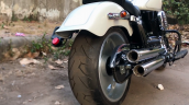 Modified Royal Enfield Bullet Rear Three Quarter R