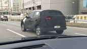 Top End Kia Sonet Rear Three Quarters Spy Shot