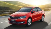 Skoda Rapid Front Three Quarters