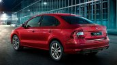 Skoda Rapid Rear Three Quarters