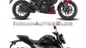 Bajaj Dominar 250 Vs Suzuki Gixxer 250 Right Side