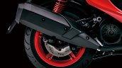Yamaha Cygnus X 125 Exhaust