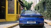 2021 Hyundai Elantra Blue Rear New