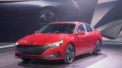 2021 Hyundai Elantra World Premiere Exterior