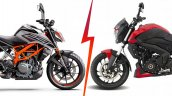 Bajaj Dominar 250 Vs Ktm 250 Duke Cover