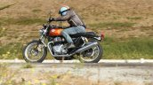 Royal Enfield Interceptor 650 In Action Side