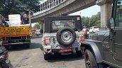 2020 Mahindra Thar Rear Spy Shot