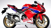Honda Cbr250rr Front Three Quarter Rt Red