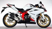 Honda Cbr250rr Right Side White