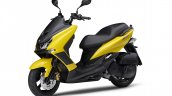 Yamaha Majesty S Front Three Quarter Lt Yellow
