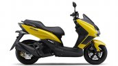 Yamaha Majesty S Right Side Yellow