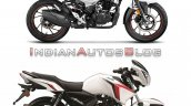 Hero Xtreme 160r Vs Tvs Apache Rtr 160 Bs6 Right S