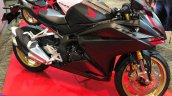 Honda Cbr250rr Front Three Quarter Rt Black 974d