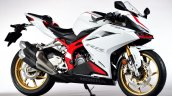 Honda Cbr250rr Front Three Quarter Rt White Ae1b