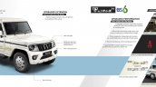 New Mahindra Bolero Facelift Brochure Page 2