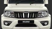 New Mahindra Bolero Power Facelift Front Fascia