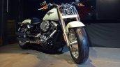 2018 Harley Davidson Fat Boy Front Three Quarters