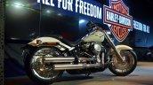 2018 Harley Davidson Fat Boy Rear Three Quarters