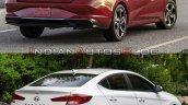 2021 Hyundai Elantra Vs 2019 Hyundai Elantra Rear
