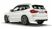 Bmw X3 M Rear Three Quarters
