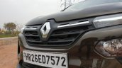 2019 Renault Kwid Review Images Grille 2 7f22